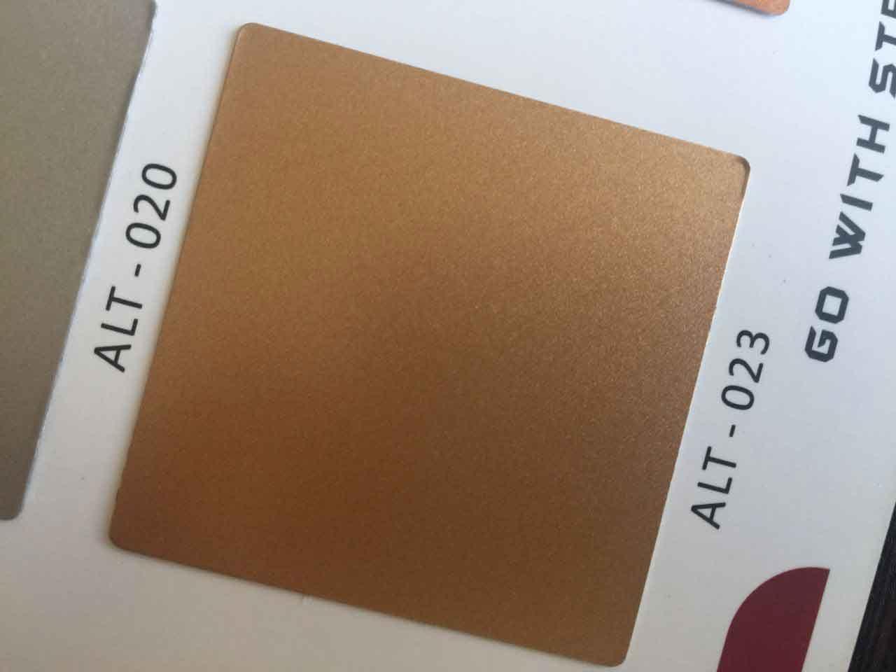 ورق کامپوزیت رنگ مسی آلوتک با کد ALT-023