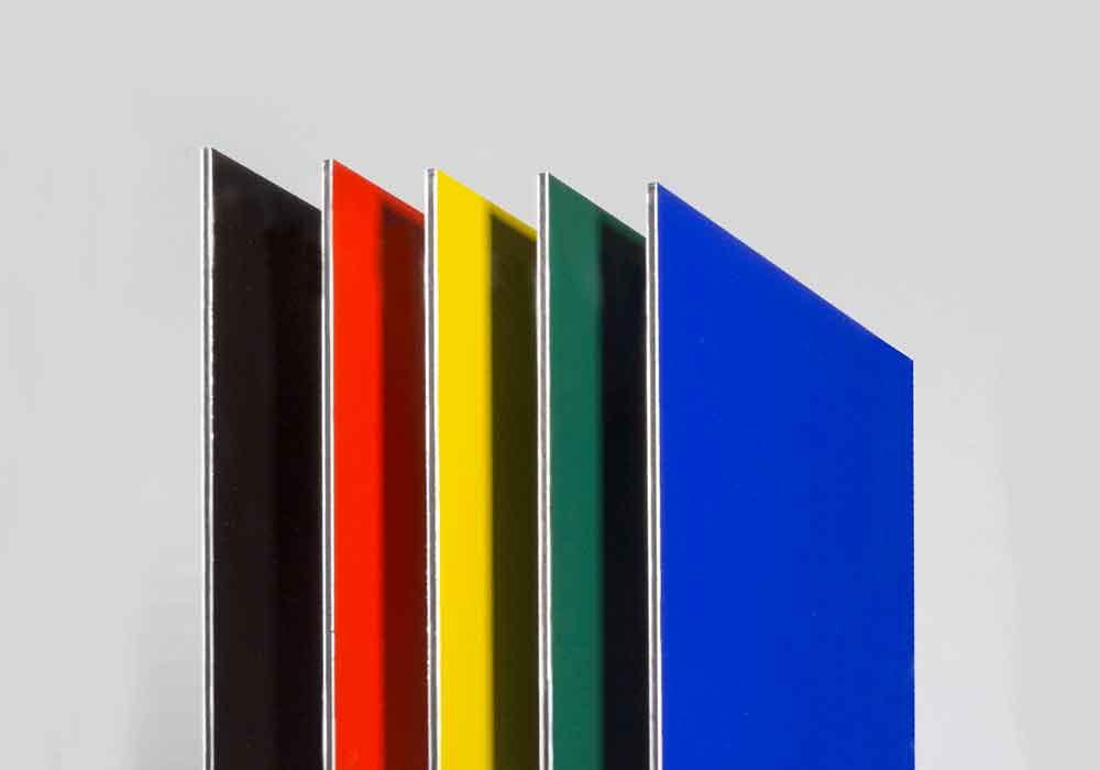 ورق های رنگی کامپوزیت مناسب نما داخلی و خارجی