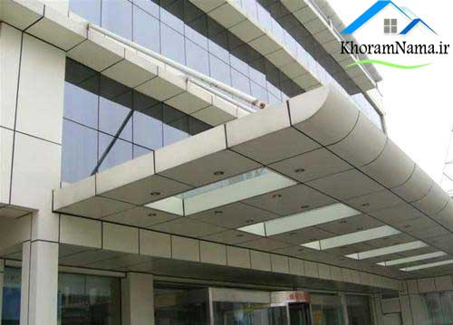 کامپوزیت ساختمان تجاری